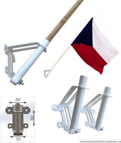 Fasádní držák vlajky